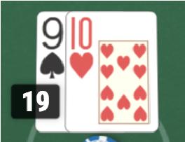 ブラックジャックハンドの数え方1